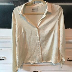 Urban Outfitters Silk Blouse